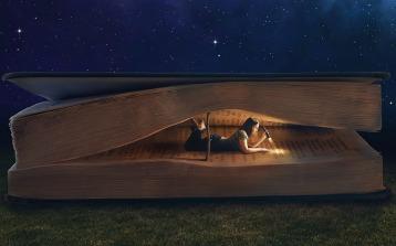 ReadingGiantBook