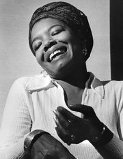 MAYA ANGELOU FROM : NEW YORK TIMES, 5/29/14